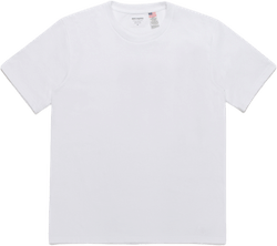 Usa Body Crew Neck T-shirt (ty White