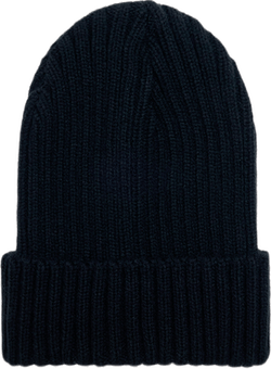 Ribbed Beanie Black