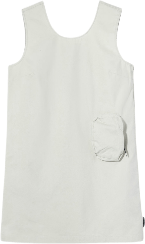 W Sleeveless Mini Dress White