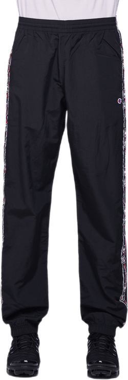 Elastic Cuff Pants Black