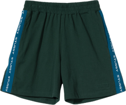 W Rib Logo Shorts Green