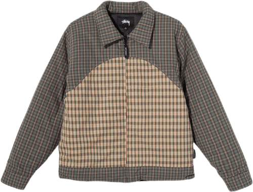W Plaid Fill Jacket Multi