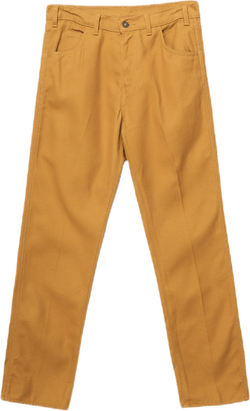 1960s Spike Pants Yellow