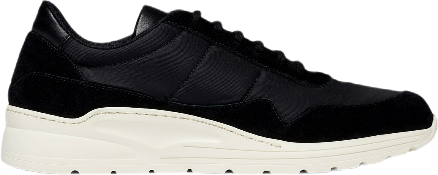 Cross Trainer Suede Black