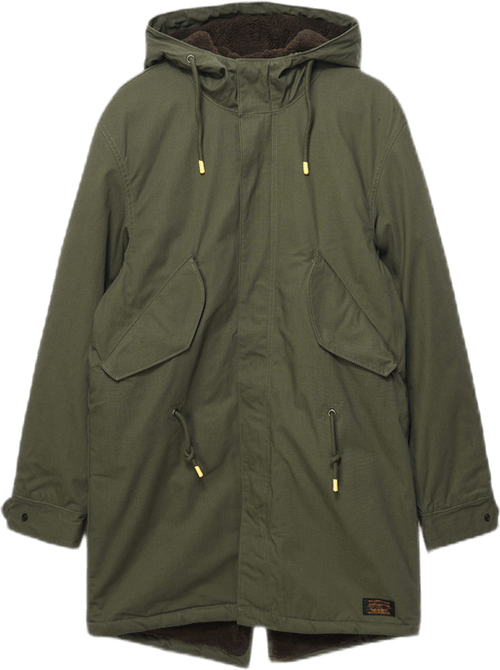 Fish Tail Parka Green