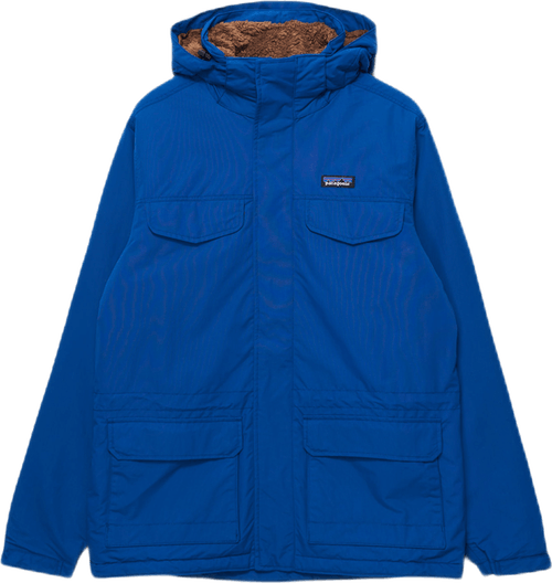 Water Repellent Hooded Parka Blue