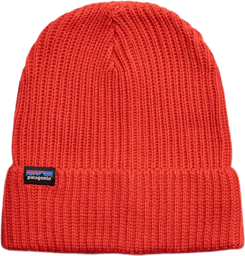 Fishermans Rolled Beanie Red