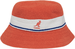 Bermuda Stripe Bucket Hat Orange