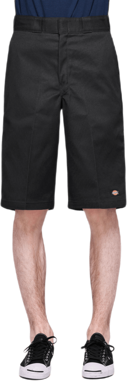 "13"" Multi-pocket Work Shorts Black"