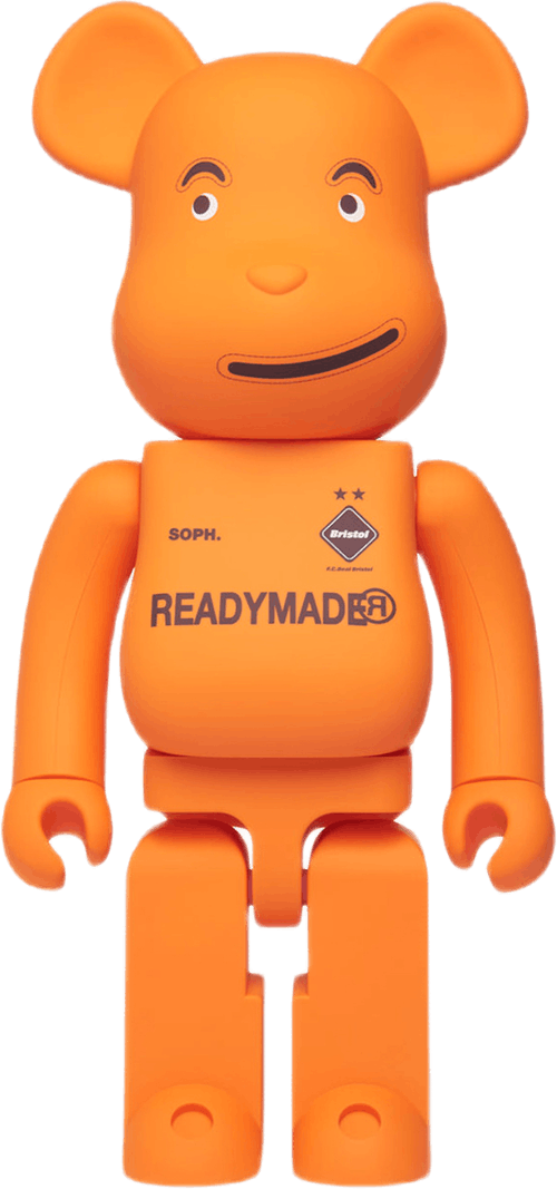 Bearbrick X Readymade X Fcrb 1 Multi