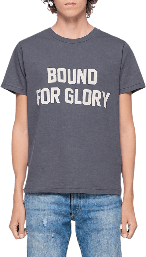 Bound For Glory Graphic Tee Black