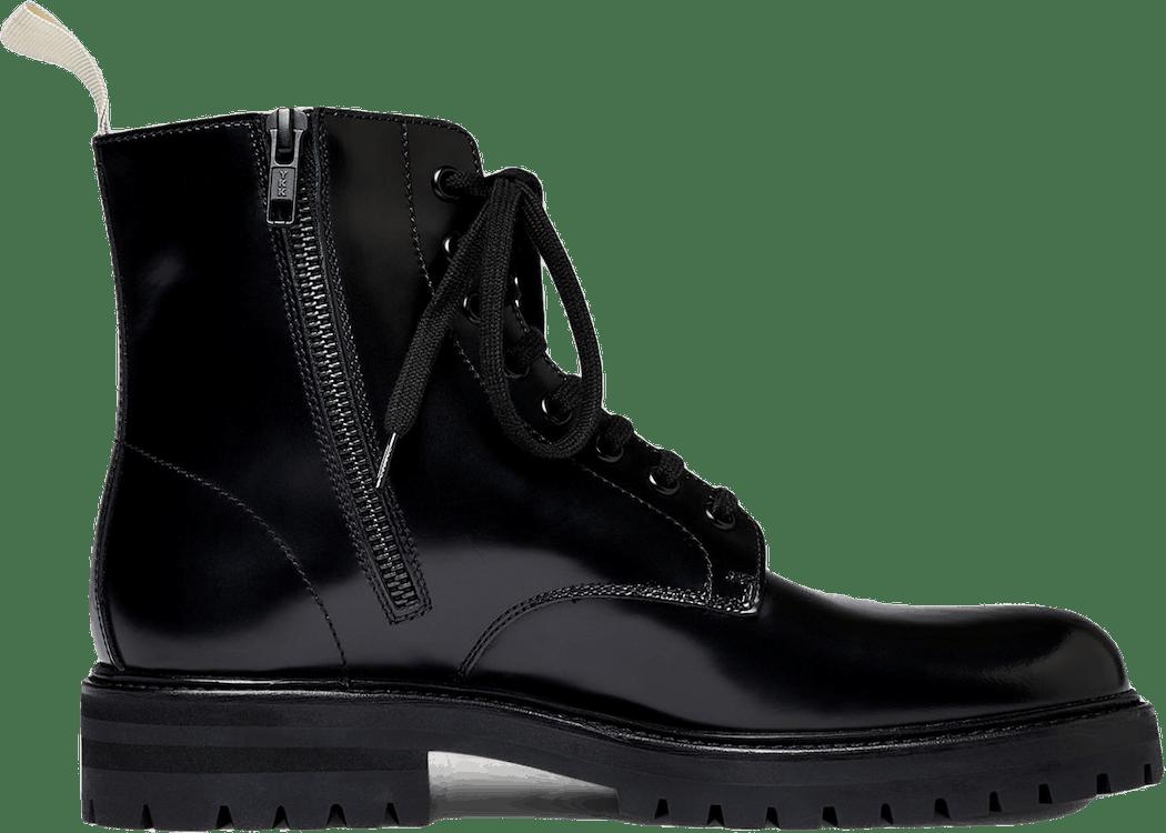 Standard Combat Boot W Lug Sol Black