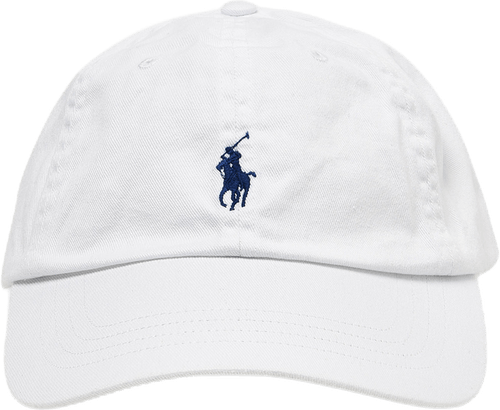 Cotton Chino Ball Cap White