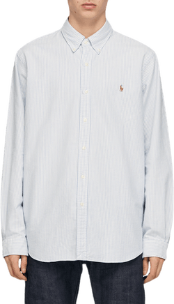 Classic Fit Oxford Shirt Blue