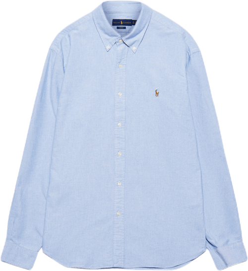 Slim Fit Oxford Shirt Blue