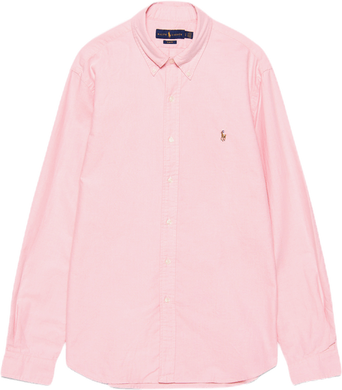 Slim Fit Oxford Shirt Pink
