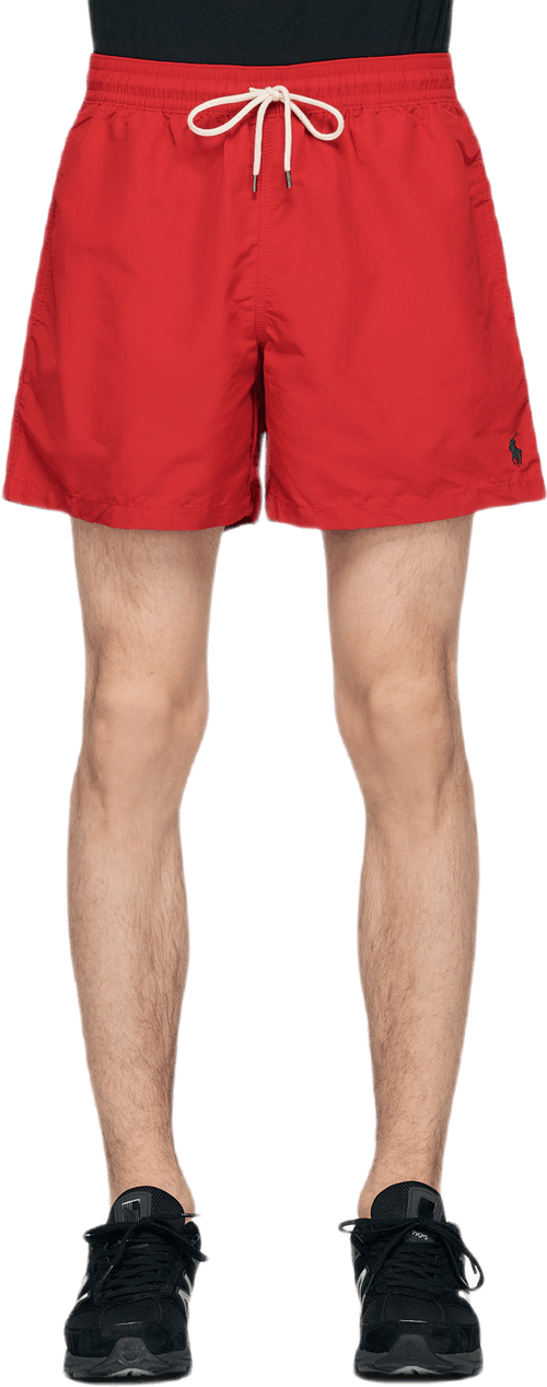 Classic Traveller Swim Shorts Red
