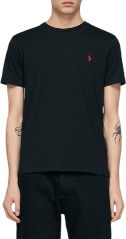 Custom Slim Fit Cotton T-shirt Black