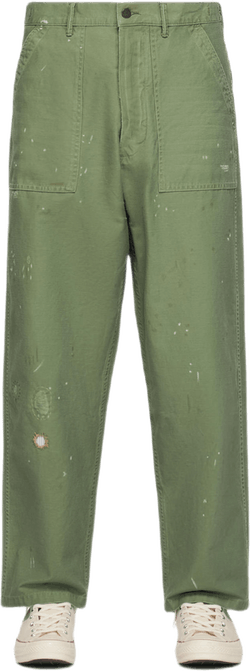 Surplus Flat Pants Green