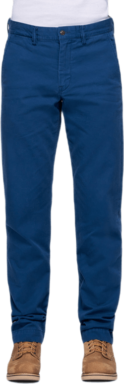 Bedford Flat Pants Blue