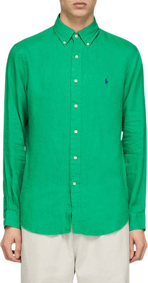 Long Sleeve Sport Shirt Green