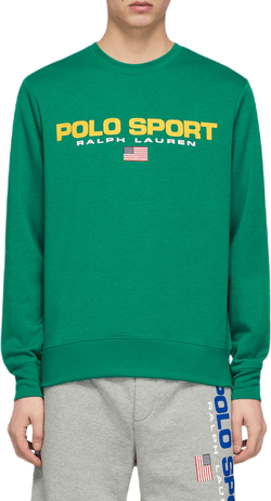 Long Sleeve Crewneck Green
