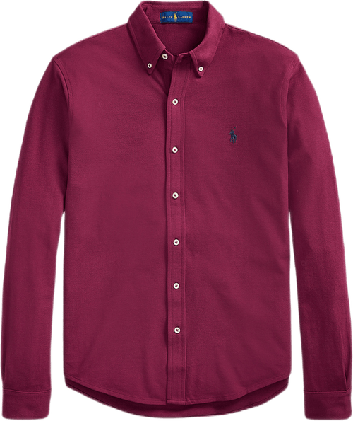 Featherweight Mesh Shirt Red