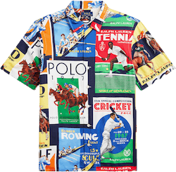 Clubhouse Collage Ss Shirt Multi