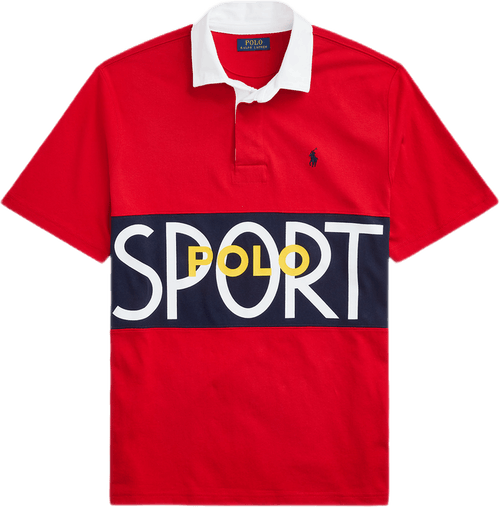 Classic Fit Polo Sport Rugby Green