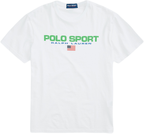 Classic Fit Polo Sport T-shirt White