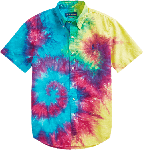 Custom Fit Tie-dye Shirt Multi
