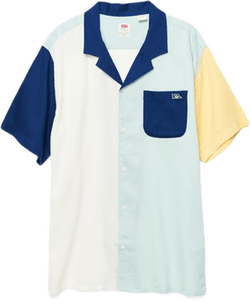 Cubano Shirt Blue