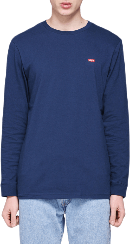 Original Long Sleeve Tee Blue