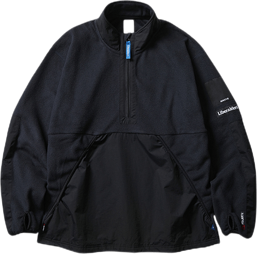 Polartech Zip Pullover Black