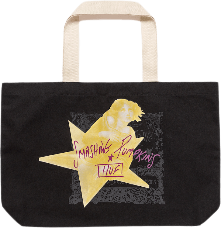 Infinitive Sadness Tote Bag Black