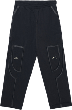 Bracket Taped Pants Black