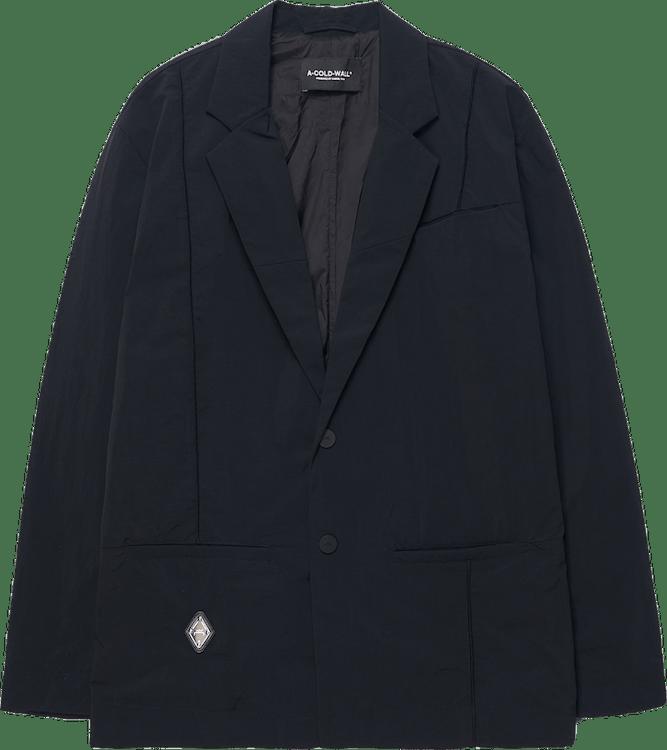 Rhombus Badge Blazer Black