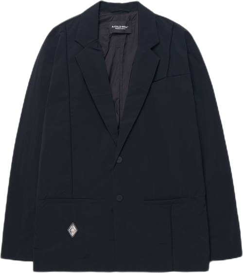 Rhombus Badge Blazer Black