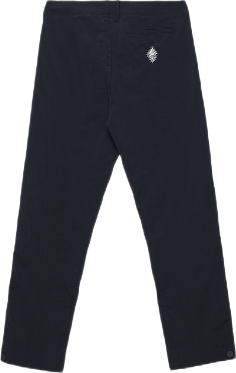 Tailored Nylon Trousers Black
