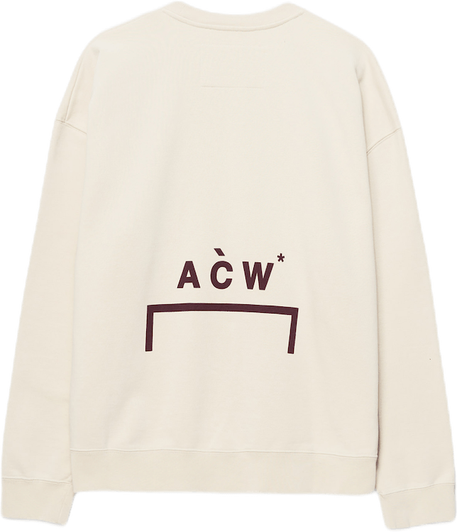 Logo Crewneck Brown