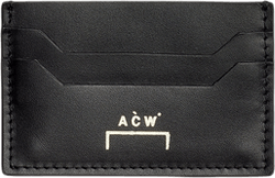 Leather Card Holder Black