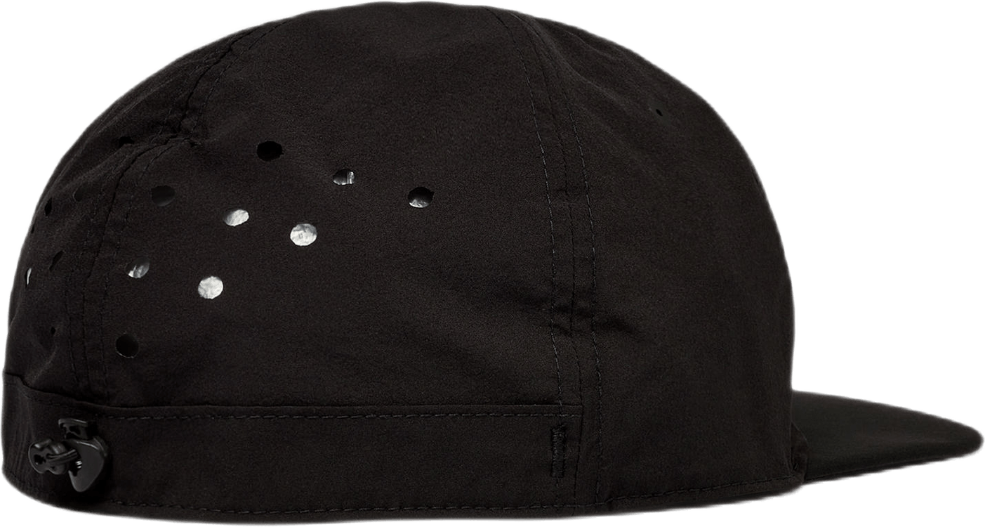 Rhombus Badge Cap Black