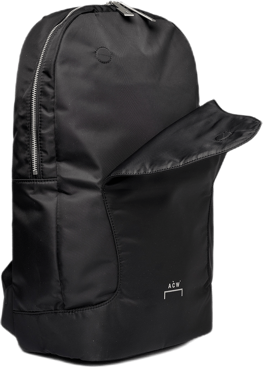 Curve Flap Backpack Black