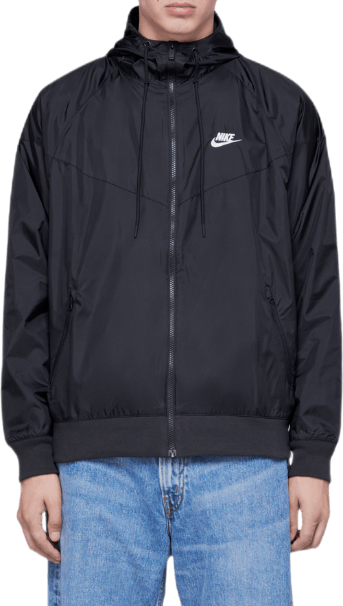 Hooded Windbreaker Black