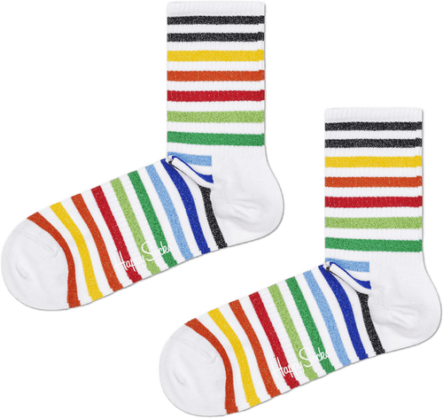 Athletic Striped Mid High Sock Multi
