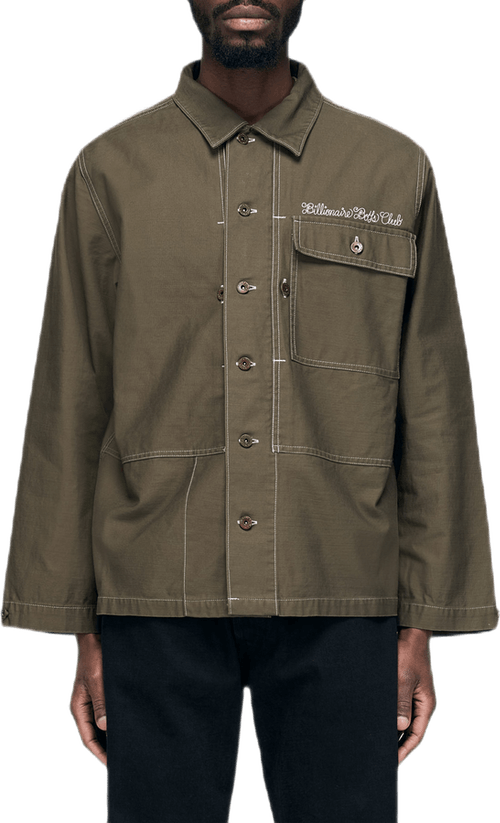 Heart & Mind Utility Shirt Green