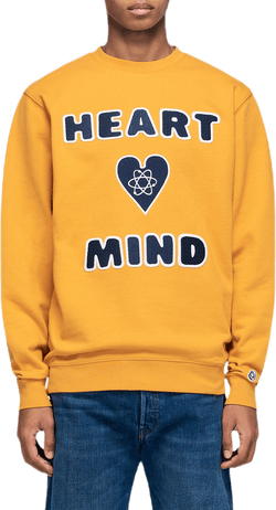Heart & Mind Crewneck Yellow