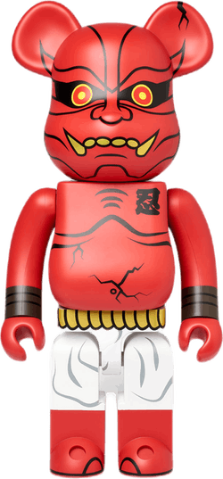 Bearbrick Akaoni Shinobu 1000% Multi