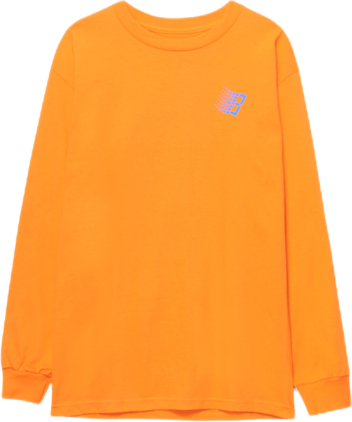 B Logo Tree Longsleeve Orange