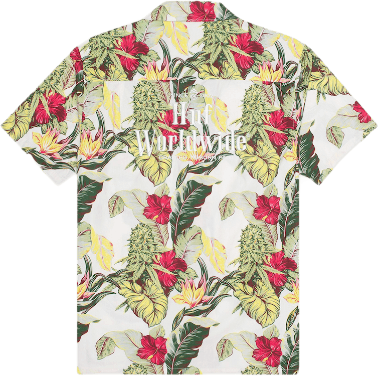 Paraiso Resort Short Sleeve Wo White